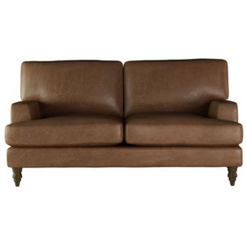 Isla 2 Seat Sofa In Tan Vintage Leather
