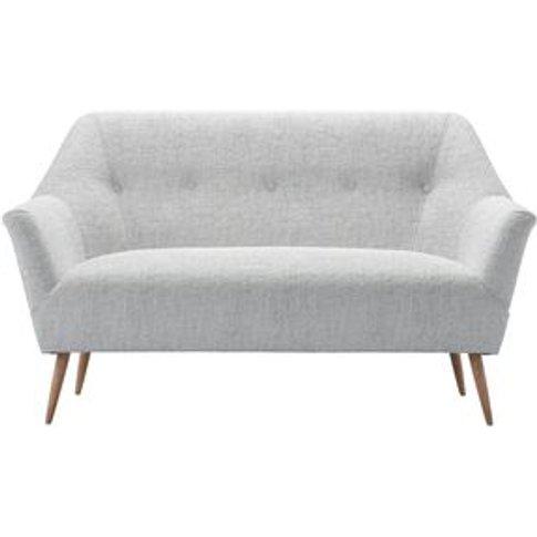 Minnie 2 Seat Sofa In Koala Chelsea Linen