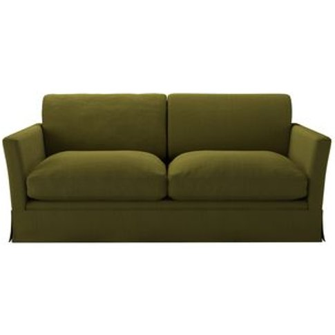 Otto 2.5 Seat Sofa In Royal Fern Brushed Linen Cotton