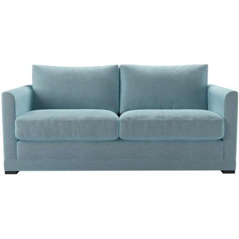 Aissa 2.5 Seat Sofa In Powder Blue Smart Velvet