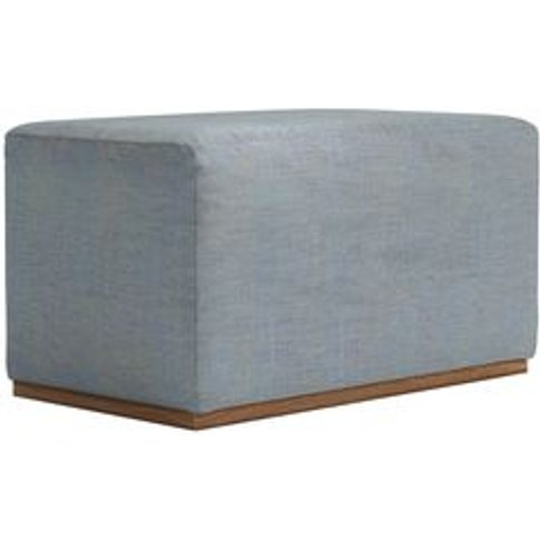 Hugo Small Rectangular Footstool In Buttermere Bayle...