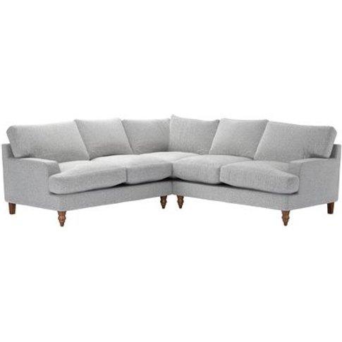Isla Medium Corner Sofa In Hedgehog Dappled Viscose ...