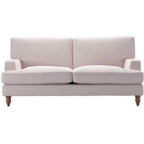Isla 2.5 Seat Sofa In Ola Squares Oyster Pink