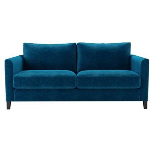 Izzy 2.5 Seat Sofa (Breaks Down) In Scuba Smart Velvet