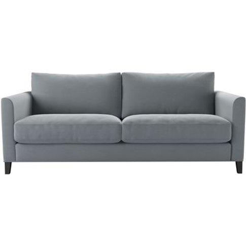 Izzy 3 Seat Sofa In Sealion Smart Cotton
