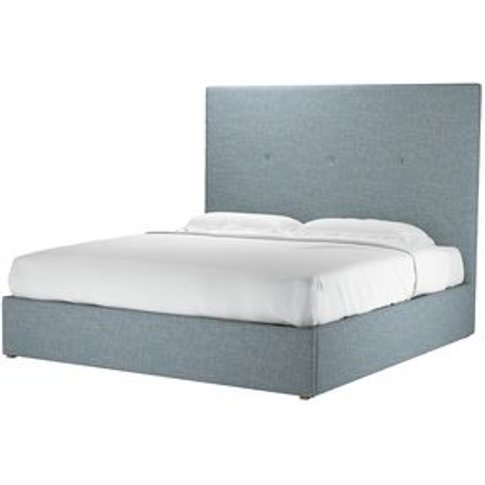 Avery 150cm Super King Ottoman Bed In Hydrangea High...