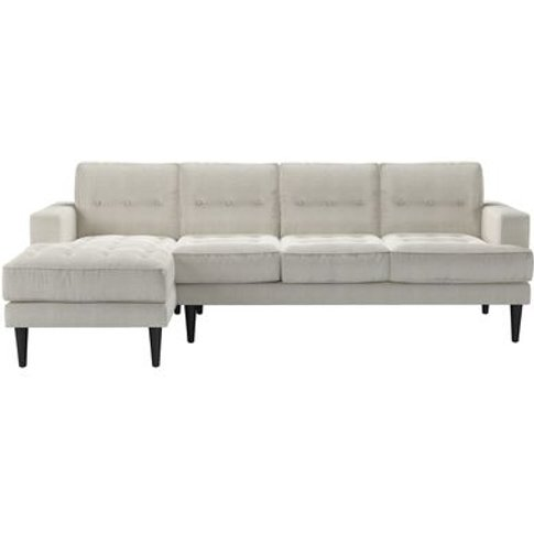 Mabel Large Lhf Chaise Sofa In Clay House Basket Weave