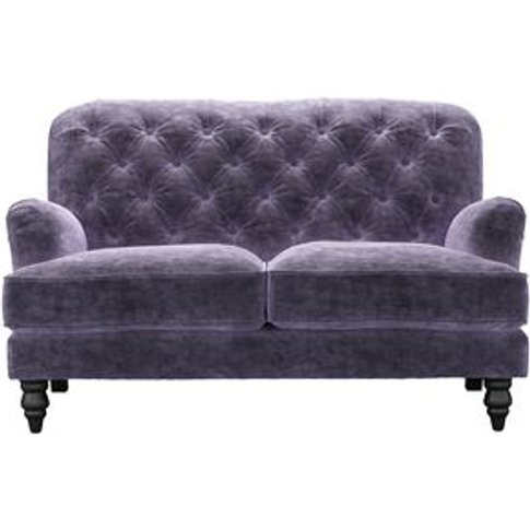 Snowdrop Button Back 2 Seat Sofa In Thistle Roosevel...