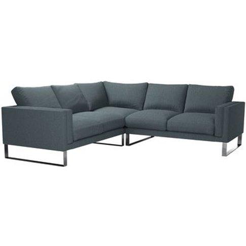 Costello Medium Corner Sofa In Chatsworth Dovedale