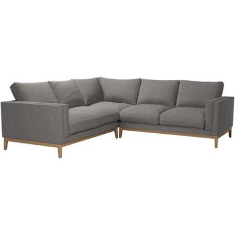 Costello (Plinth) Medium Corner Sofa In Haddon Dovedale