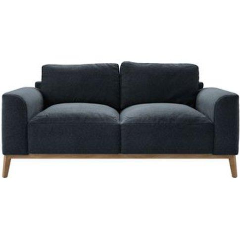 Freddie 2.5 Seat Sofa In Rockpool Smart Slubby Cotton