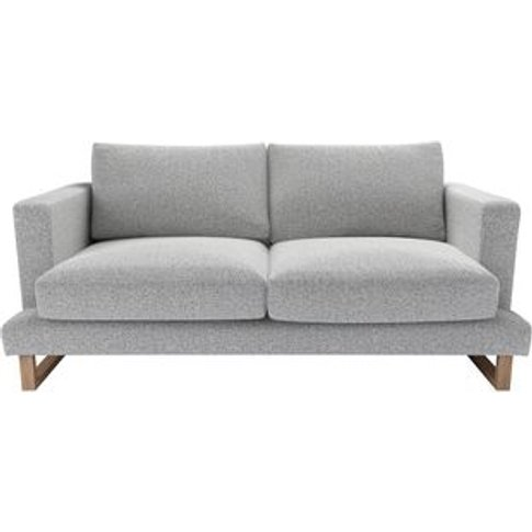 Madison 2.5 Seat Sofa In Hedgehog Dappled Viscose Wool