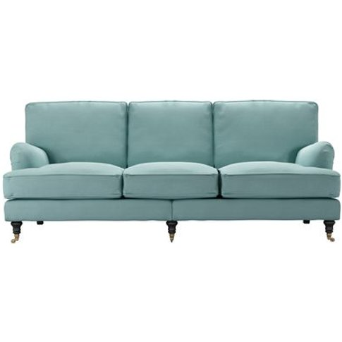 Bluebell 4 Seat Sofa In Eucalyptus Smart Cotton