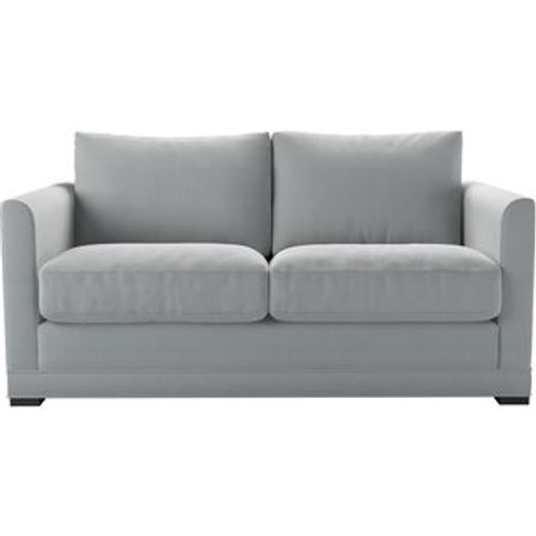 Aissa 2 Seat Sofa (Breaks Down) In Denim Chessnea Stripe