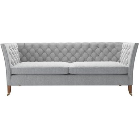 Descartes 3 Seat Sofa In Goodwin Grey Sandgate