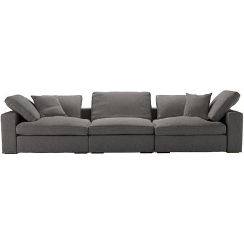 Long Island 3 Seat Sofa In Haddon Dovedale