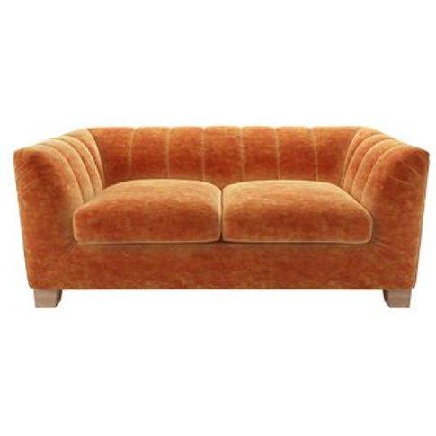 Albie 2 Seat Sofa In Ganges Roosevelt Velvet