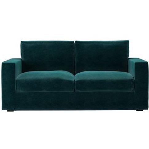 Stella 2.5 Seat Sofa In Jade Smart Velvet