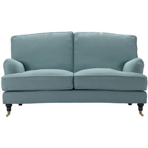 Bluebell 2 Seat Sofa (Breaks Down) In Lagoon Brushed...