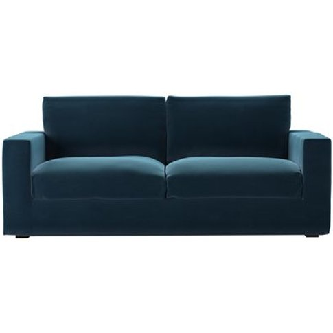 Stella 3 Seat Sofa In Seaweed Smart Cotton
