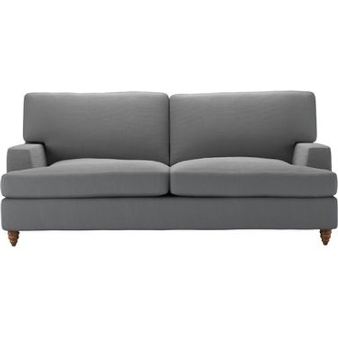 Isla 2.5 Seat Sofabed In Shadow Brushed Linen Cotton