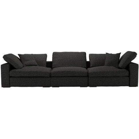 Long Island 3 Seat Sofa in Slate Highland Tweed