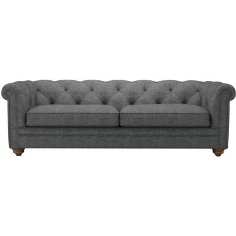 Patrick 3 Seat Sofabed In Granite Soft Wool