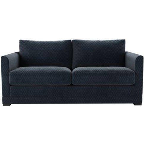 Aissa 2.5 Seat Sofa (Breaks Down) In Gunmetal Velvet...