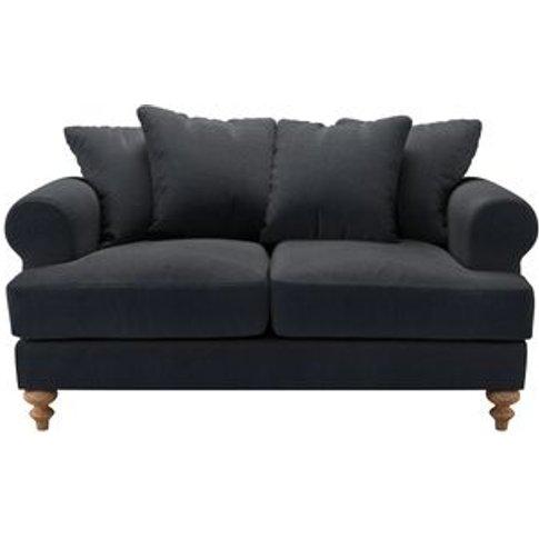 Teddy 2 Seat Sofa In Basalt Cotton Viscose Twill