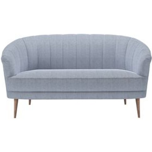 Harper 2 Seat Sofa In Uniform House Herringbone Weave