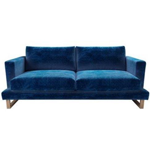 Madison 3 Seat Sofa In Navy Filigree