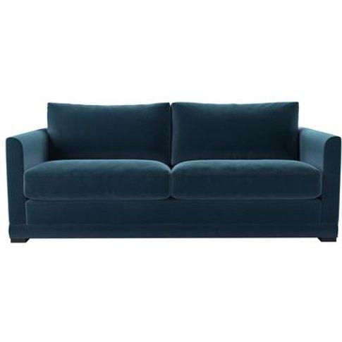 Aissa 3 Seat Sofa (Breaks Down) In Seaweed Smart Cotton