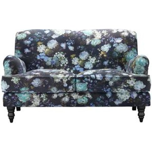Snowdrop 2 Seat Sofa (Breaks Down) In Periwinkle Che...