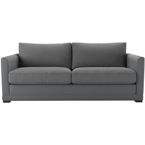 Aissa 3 Seat Sofa (Breaks Down) In Shadow Brushed Li...