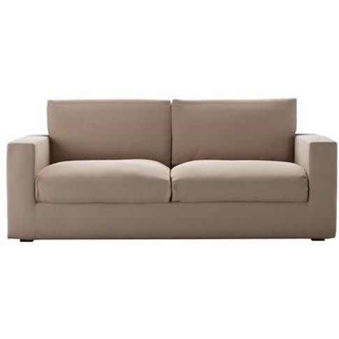 Stella 3 Seat Sofa In Mouse Smart Cotton