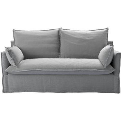 Isaac 2.5 Seat Sofa In Pumice House Plain Weave