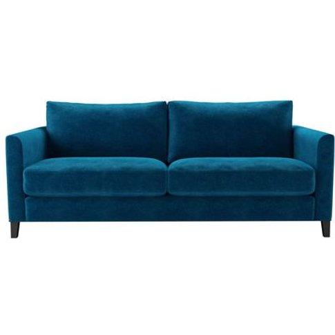 Izzy 3 Seat Sofa (Breaks Down) In Scuba Smart Velvet