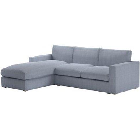 Stella Large Lhf Chaise Sofa In Uniform House Herrin...