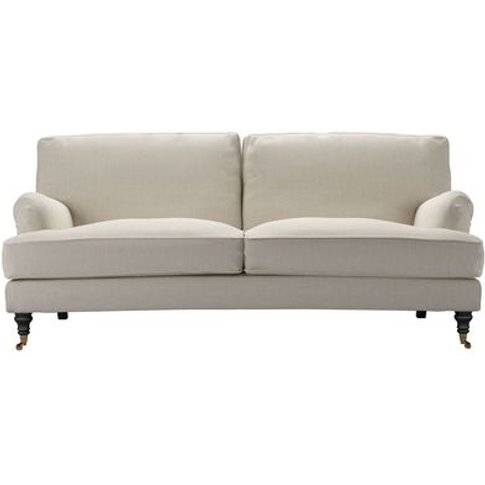 Bluebell 3 Seat Sofa (Breaks Down) In Canvas Pure Be...