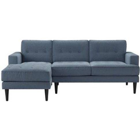 Mabel Medium Lhf Chaise Sofa In Stream Dovedale