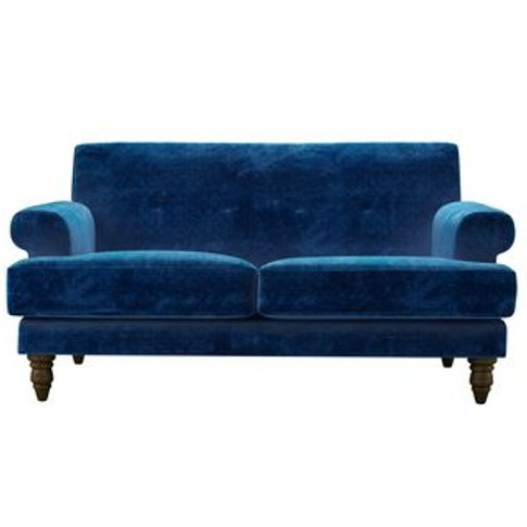 Remy 2 Seat Sofa In Navy Filigree