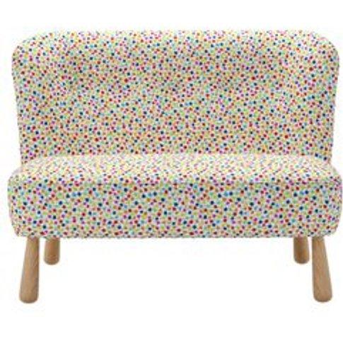 Alfie 2 Seat Sofa In Tutti Frutti Dotty