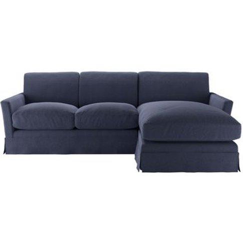 Otto Medium Rhf Chaise Sofa In Uniform House Plain W...