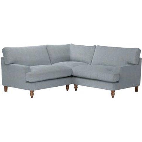 Isla Small Corner Sofa In Buttermere Baylee Viscose ...