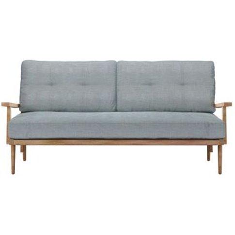 Hendrik 3 Seat Sofa In Buttermere Baylee Viscose Linen