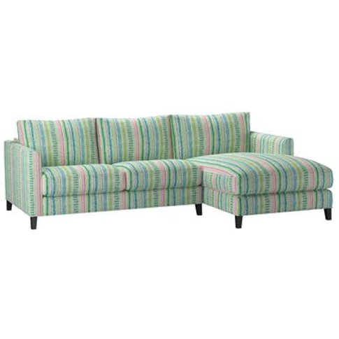 Izzy Small Rhf Chaise Sofa In Dawn Lucy Tiffney Lond...