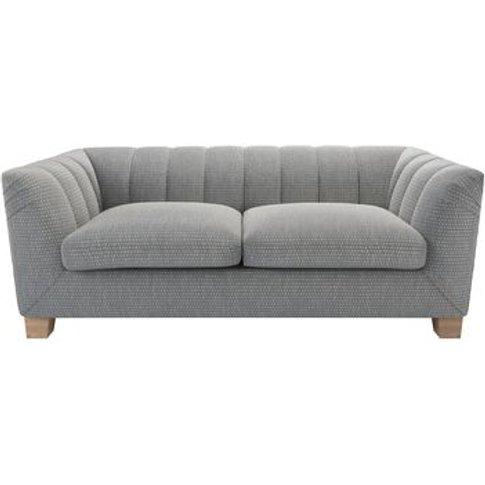 Albie 2.5 Seat Sofa In Iron Diamond Viscose Cotton