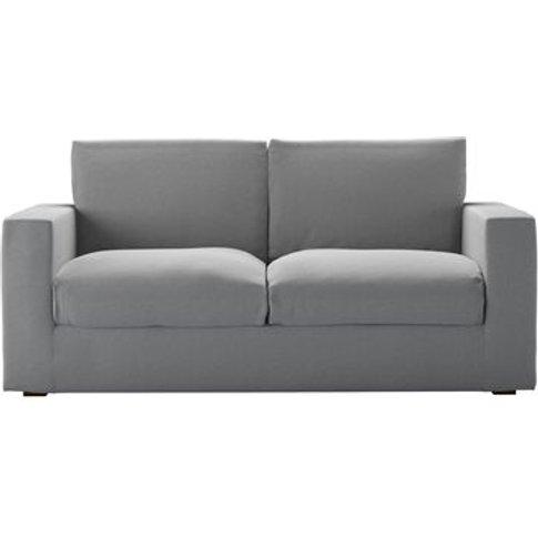 Stella 2.5 Seat Sofa In Pumice House Plain Weave