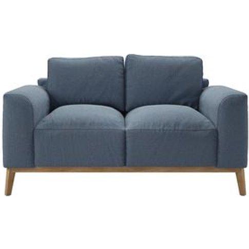 Freddie 2 Seat Sofa In Stream Dovedale