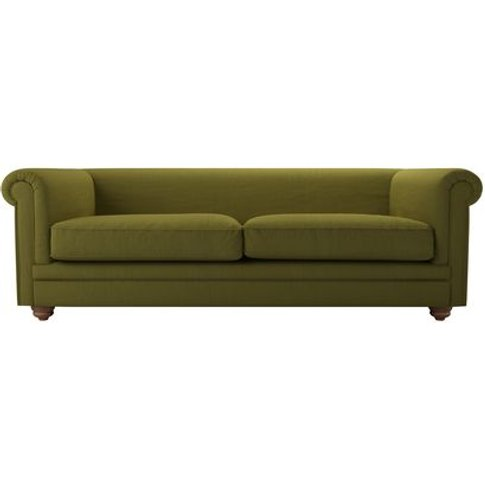 Patrick Unbuttoned 3 Seat Sofa In Royal Fern Brushed...
